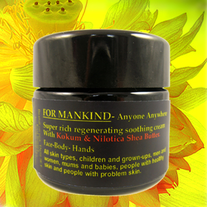 Deliverance concentrated organic cream