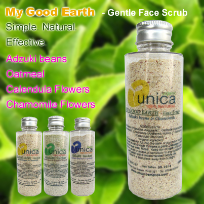 My Good Earth organic face scrub